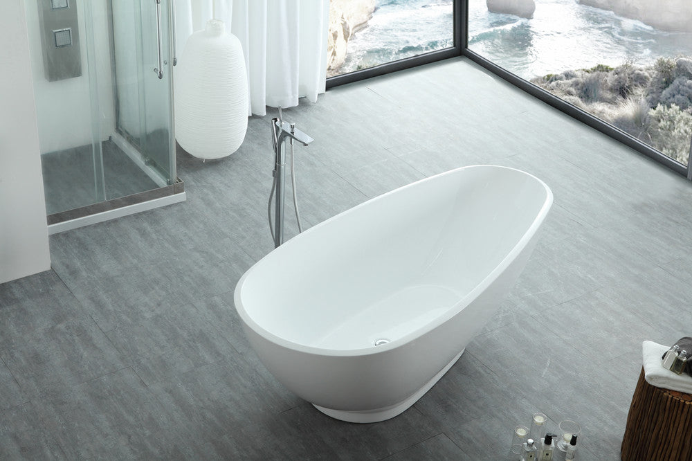 "Legion Furniture WE6848 74.8"" Acrylic Bathtub"