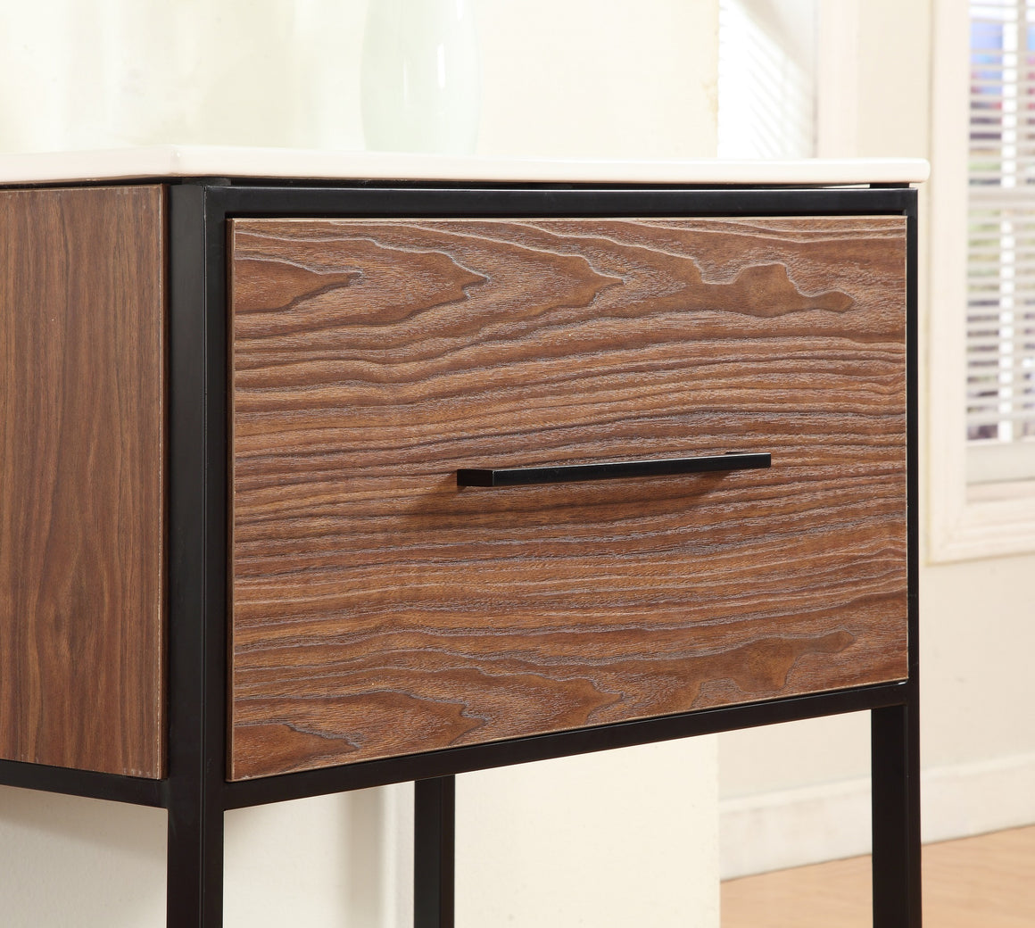 "24"" Bathroom Vanity in Walnut Finish by Legion Furniture WH7024WB"