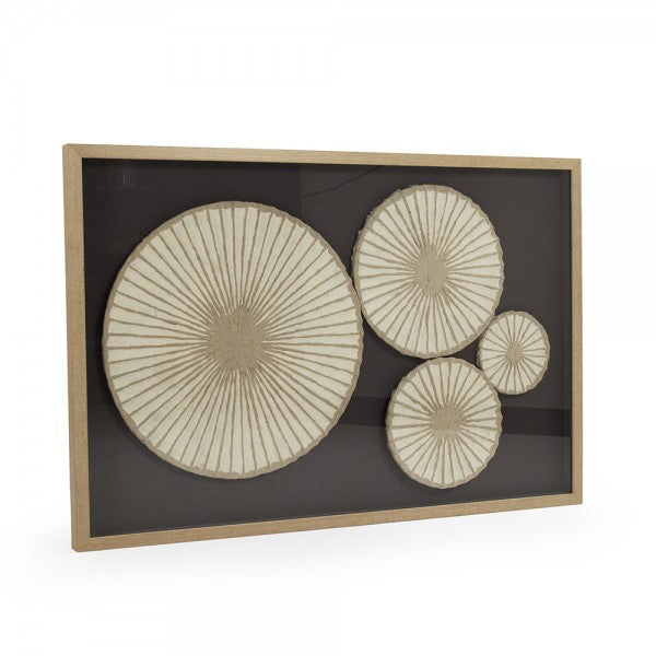 Zentique ZEN30423 Abstract Paper Framed Art