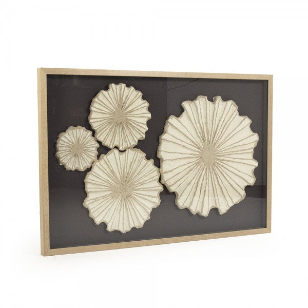 Zentique ZEN30423B Abstract Paper Framed Art
