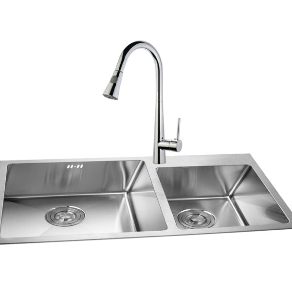 Legion Furniture ZK88402AB-PC ZK Series Single Hole Pull-Down Faucet