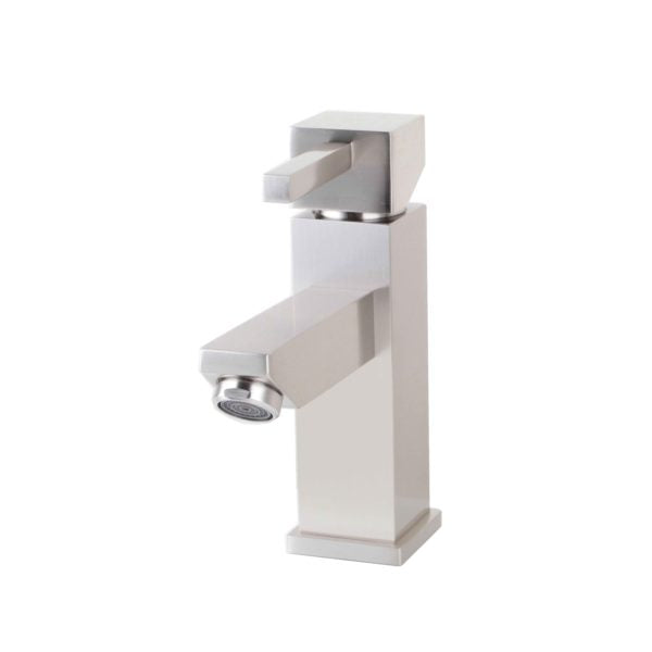 ZY6001-BN Legion Furniture Single Hole Single Handle Bathroom Faucet with Drain Assembly