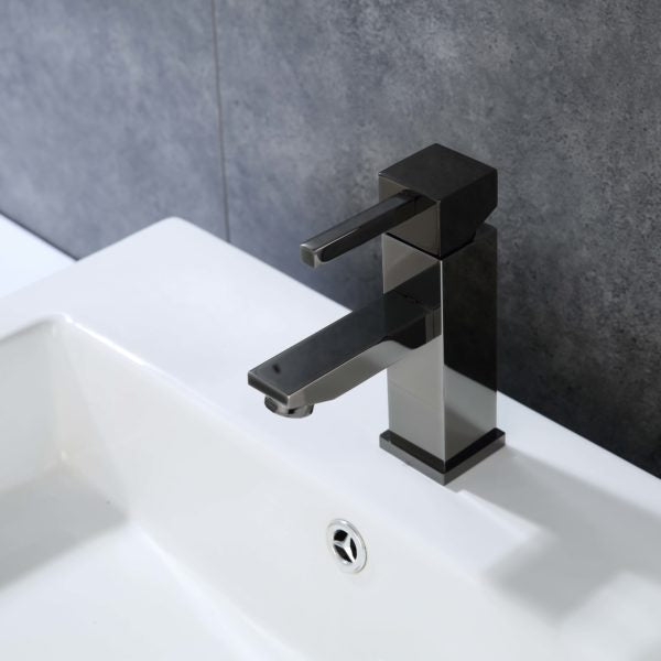 ZY6003-GB Legion Furniture Single Hole Single Handle Bathroom Faucet with Drain Assembly