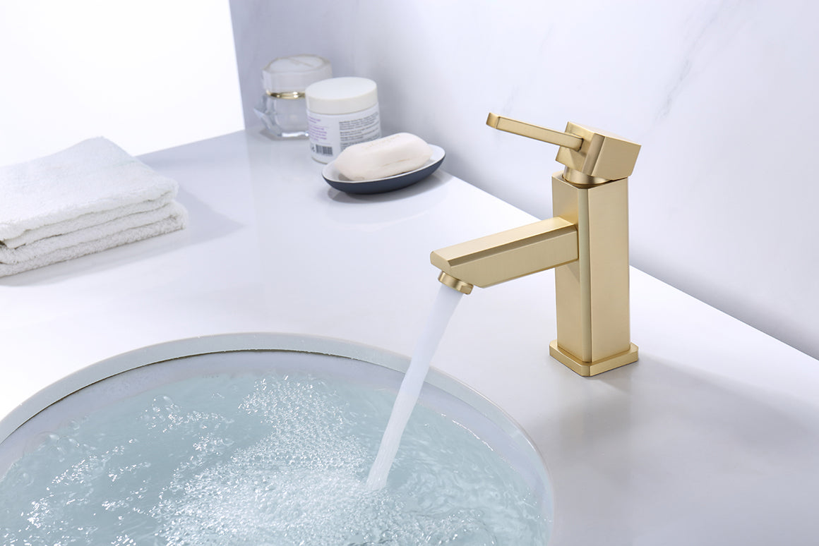 ZY6301-G Legion Single Hole Faucet with Drain