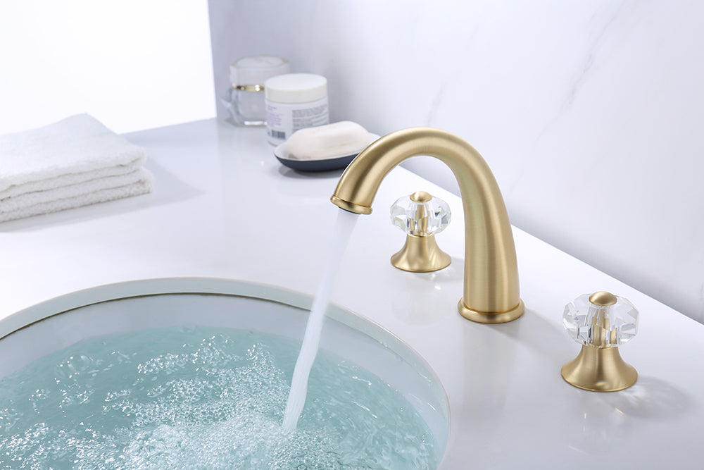 ZY8009-G Legion Bathroom Faucet in Gold Finish