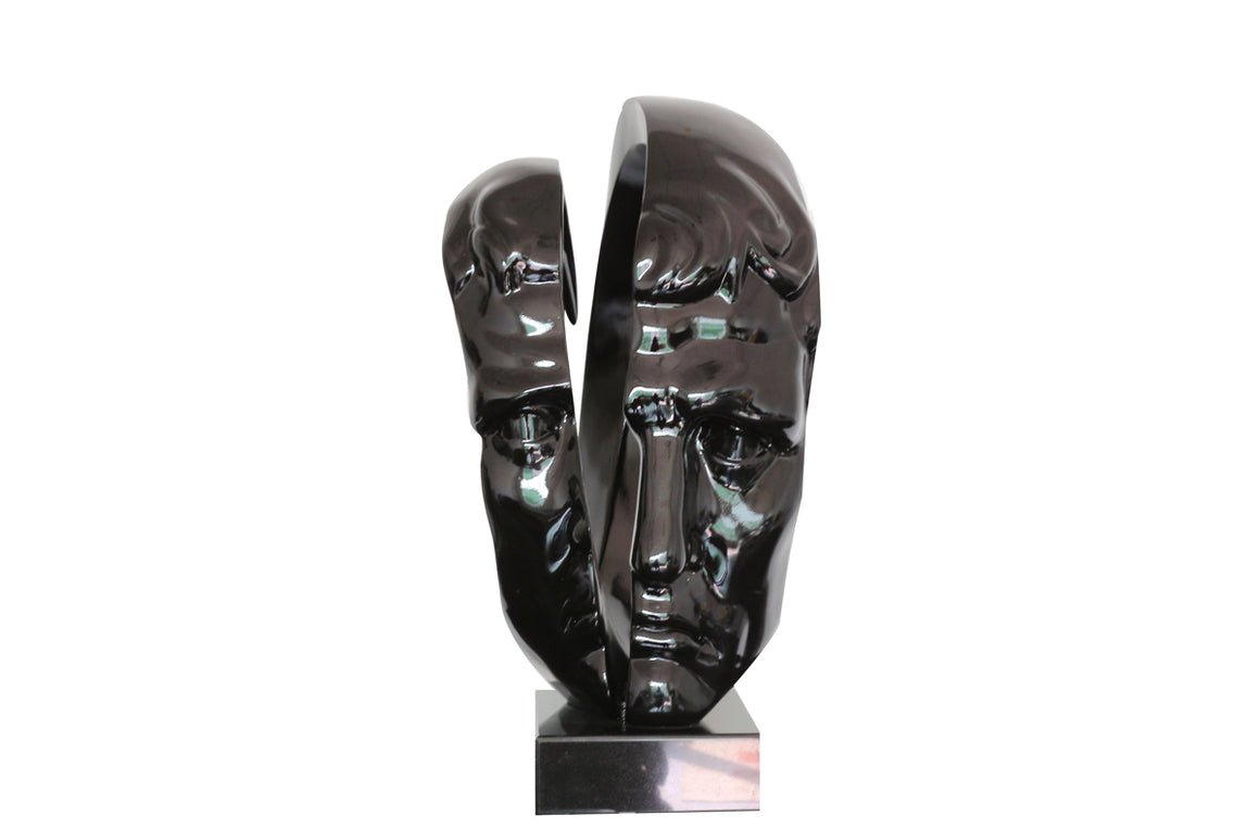 Modrest Statue Modern Black Sculpture