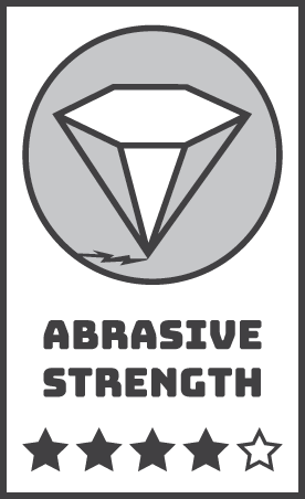Rainbow Abrasive Strength