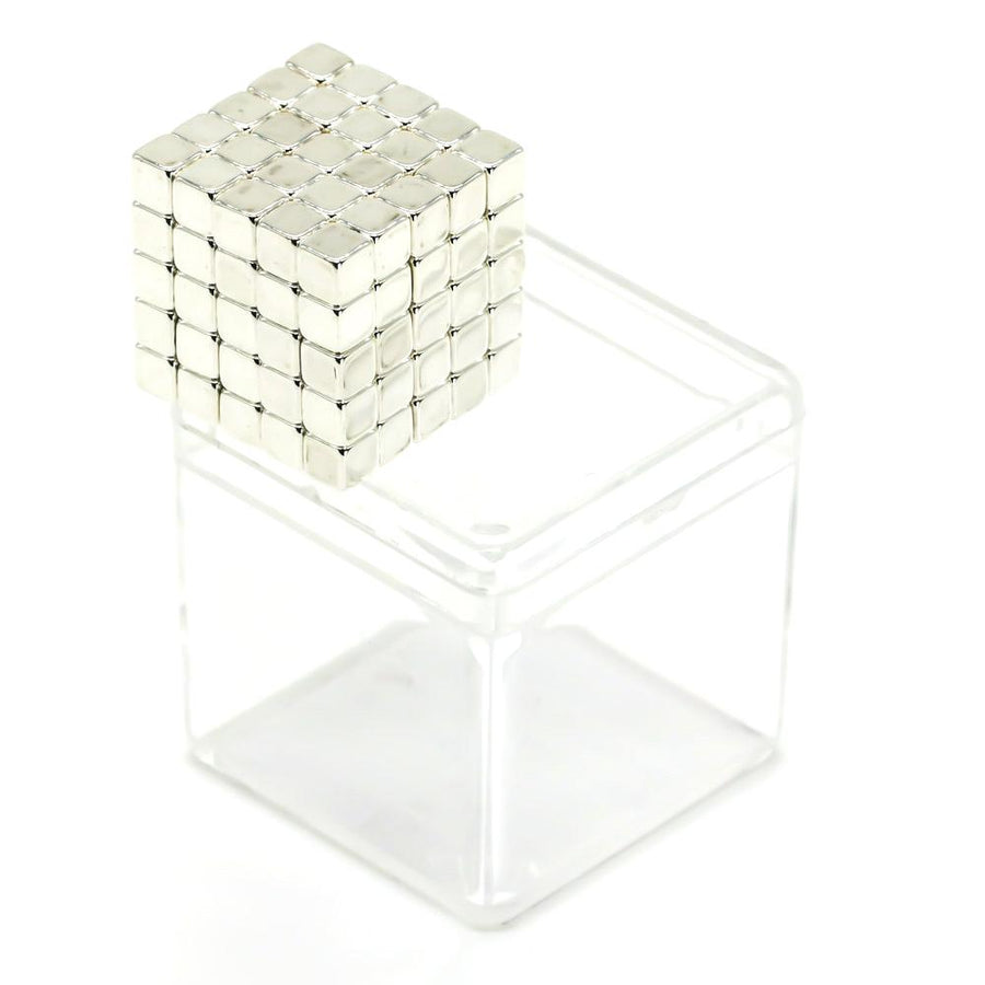 125 Set: Sterling-Silver Neo Cubes