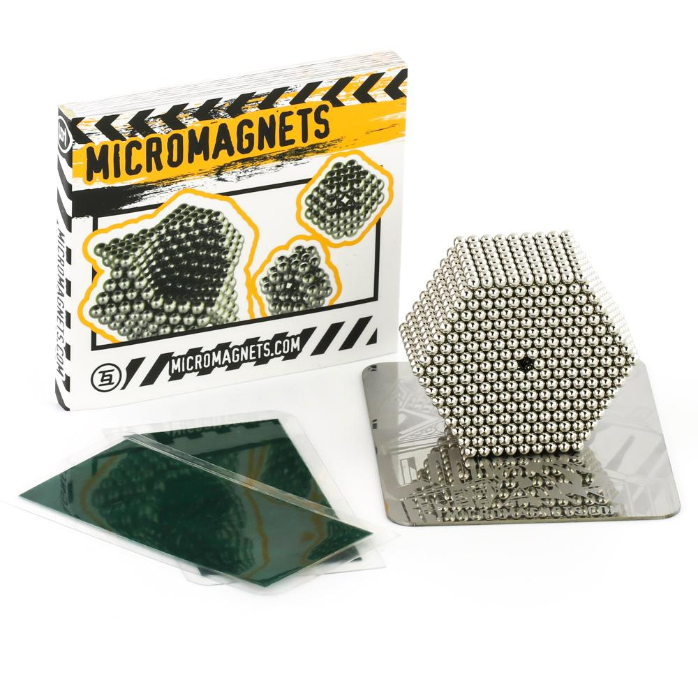 1728 Micromagnets, Guide, building base, magnet field viewer cards