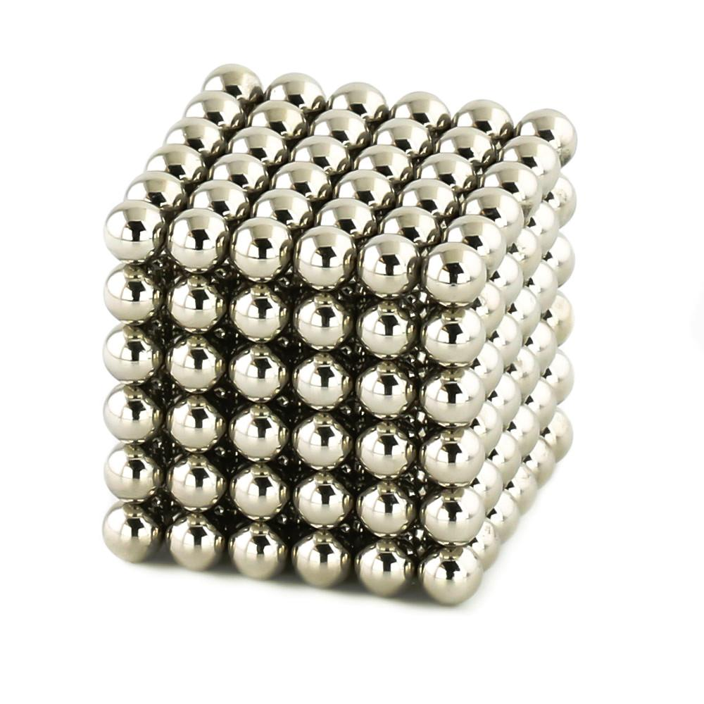 nickel neoballs sculpture magnet spheres cube