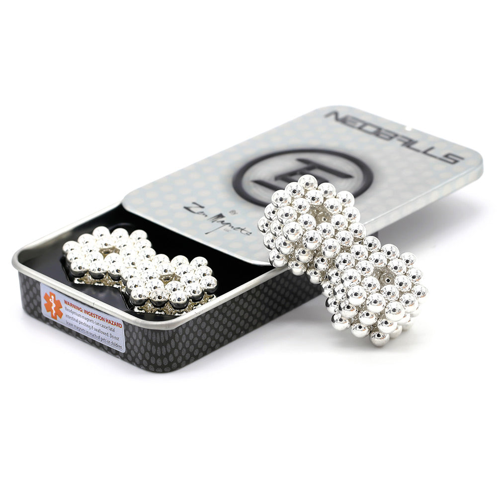 CLEARANCE Neoballs 216 Silver Magnetic Balls by Zen Magnets
