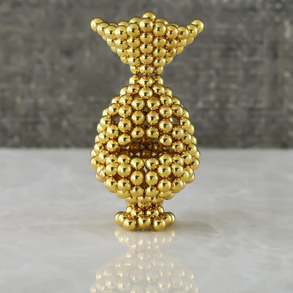 gold neoballs sculpture magnet spheres