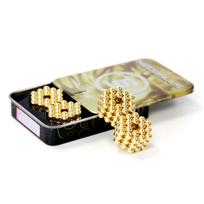 Neoballs 216 Gold Magnetic Balls by Zen MAgnets