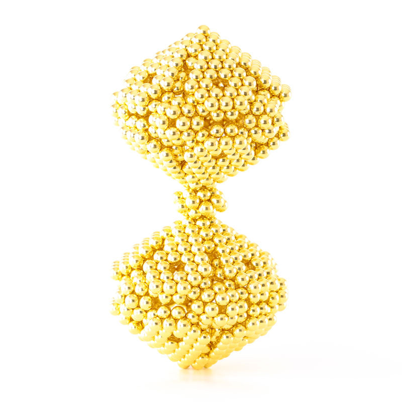 864 Gold Neoballs Magnetic Balls by Zen Magnets