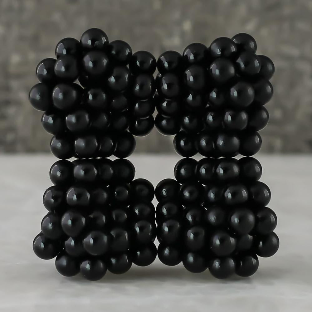 black neoballs sculpture magnet spheres