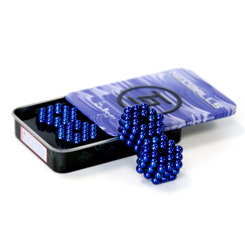 Neoballs 216 Blue Magnetic Balls by Zen Magnets