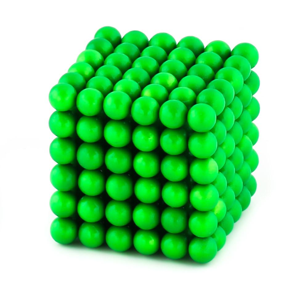 glow-in-the-dark neoballs sculpture magnet spheres cube