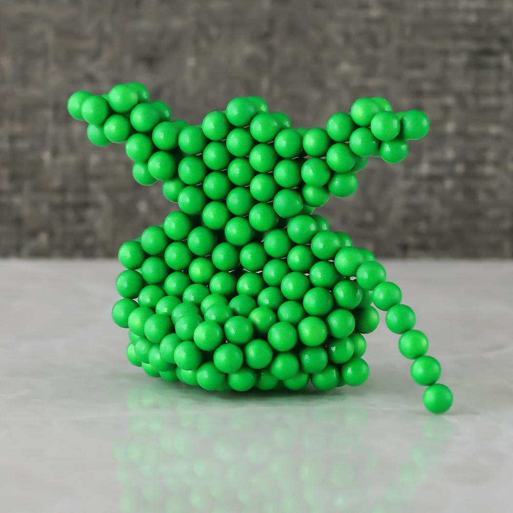 glow-in-the-dark neoballs sculpture magnet spheres