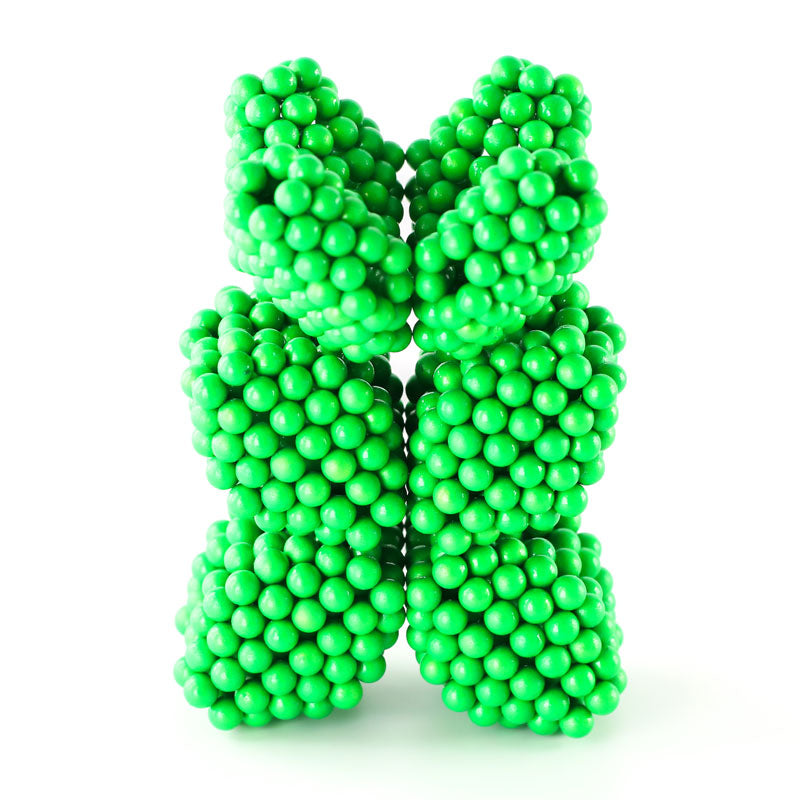 864 Glow in the Dark Neoballs Magnetic Balls by Zen Magnets