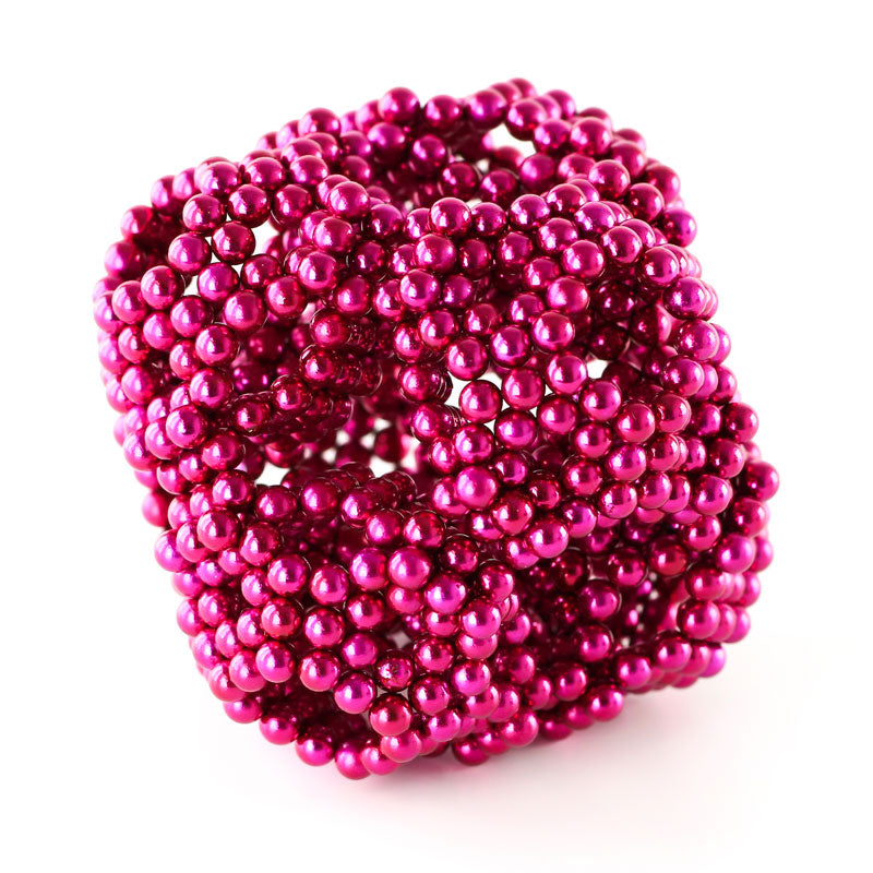 864 Magenta Neoballs Magnetic Balls by Zen Magnets