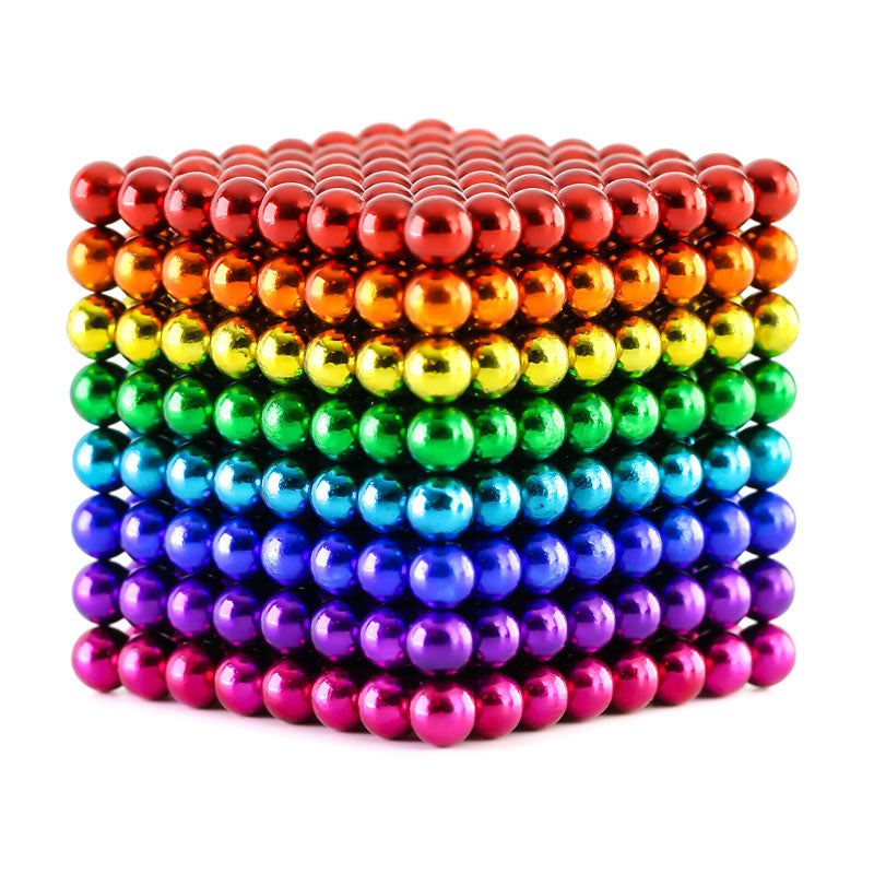 864 Rainbow Neoballs Magnetic Balls by Zen Magnets
