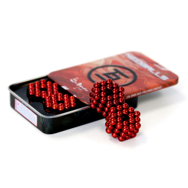 Neoballs 216 Red Magnetic Balls by Zen Magnets
