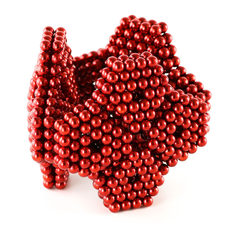 864 Red Neoballs Magnetic Balls by Zen Magnets