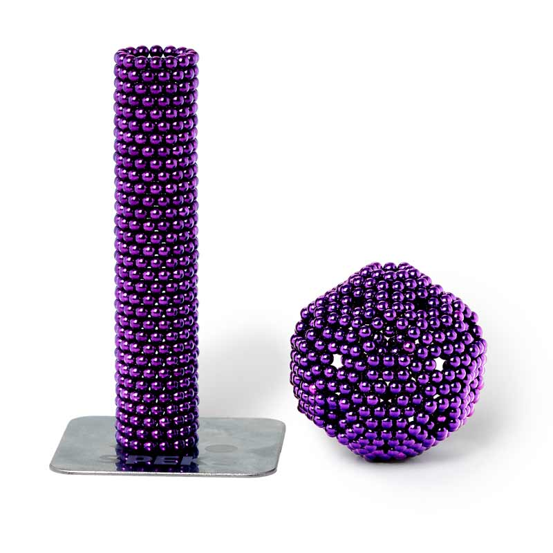 2.5mm Speks in purple colorway
