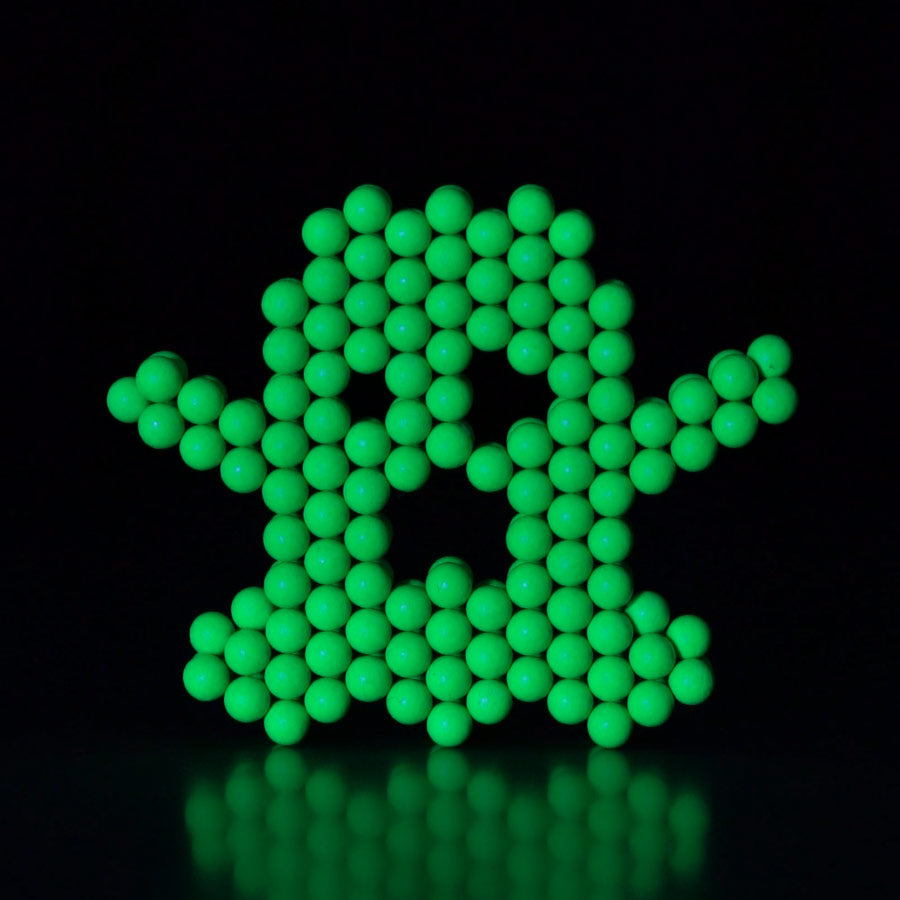 Glow in the Dark Ghost made of Neoballs Magnet balls