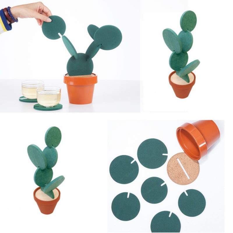 Cactus Coaster Tree