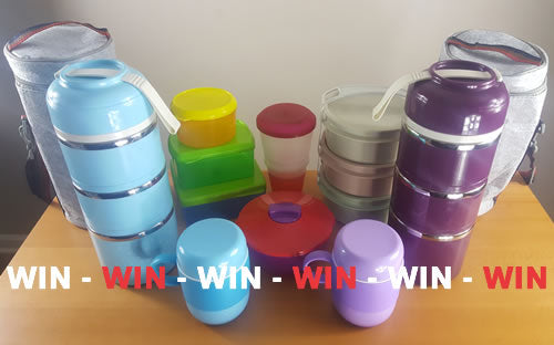 WIN - THE ULTIMATE LUNCH BOX PACKAGE WORTH $150