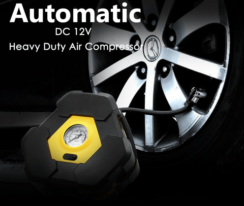 Image of Auto Tire Inflator 12V