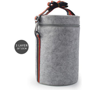 Lunch Box Bag 3 Layer