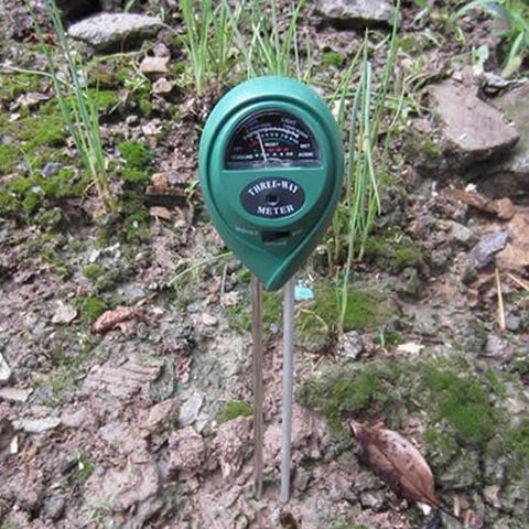 3 in 1 Soil Moisture Meter, Light and PH Acidity Tester