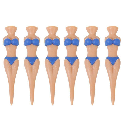 40PC/SET Sexy Girl Bikini Golf Tees