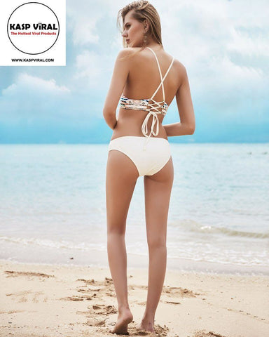 2017 Indian Template Two Piece Bikini Set