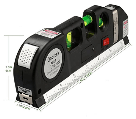 New Laser Level Horizon and Vertical Measure Tape