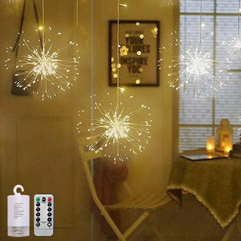 Image of LED COPPER WIRE FIREWORK LIGHTS