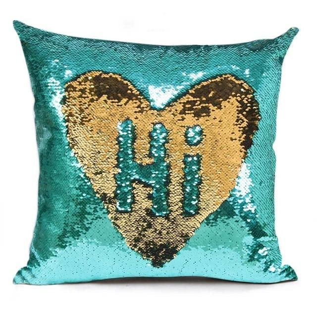 Reversible Sequin Mermaid Sequin Cushion Cover