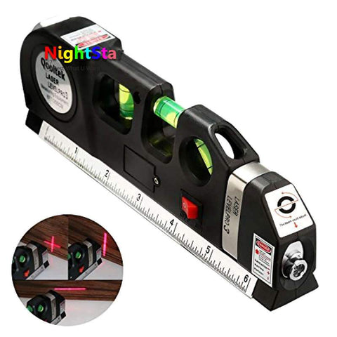 Image of New Laser Level Horizon and Vertical Measure Tape