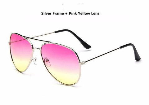 Image of Vitcho Classic Mirror Pilot Sunglasses (SNAPCHAT FILTERS)