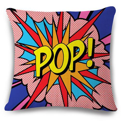 Pop Art Cushion Covers