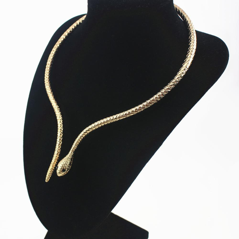 Snake Choker Necklace