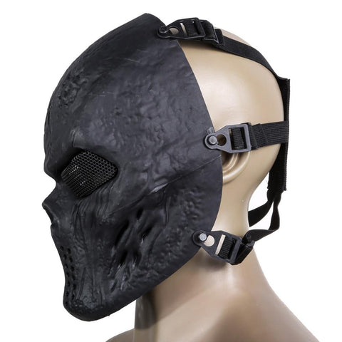 Image of Airsoft & Paintball Full Face Skull Masks