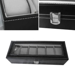 6 Grid Luxury Watch Box