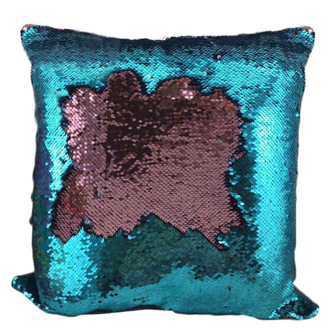 Image of Mermaid Sequin Cushion Cover