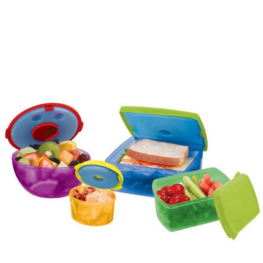 Colorful Salad Snack Food Container