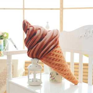 3D sweet ice cream cushions