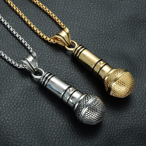 Image of Microphone Necklace
