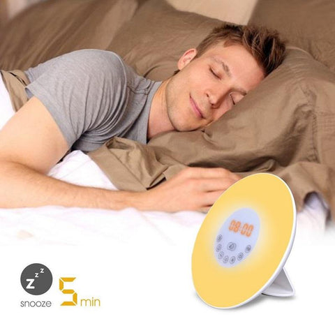 Sunlight Digital Alarm Clock